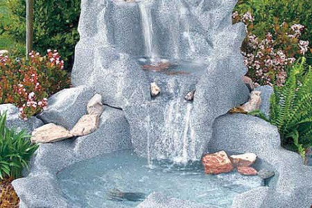Fuente de agua for Cascada artificial en pared